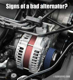 What is an alternator in a car, alternator problems, symptoms, testing. rebuilding, tips to prevent alternator problems Alternator Repair, Car Fix, Electrical Wiring Diagram, Car Tools, Buggy, Small Engine, Diy Car, Mechanical Engineering, Chevy Trucks