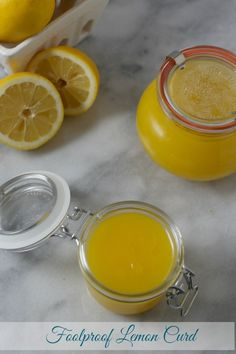 This Foolproof Lemon Curd from CookingInStilettos.com is made from scratch with just 4 ingredients. This silky luscious lemon curd is delicious spread on scones, swirled into yogurt, added to cupcakes or even by the spoonful straight from the jar. You will never buy store-bought again after making this easy recipe   @CookInStilettos ~ http://cookinginstilettos.com