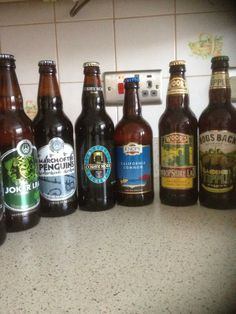 """- Lovely selection of Real Ales shared with us on twitter! """"@MrNidge: @Carol Henry Pint Night in with a small selection of real ales from @RealAleW_house"""""""