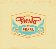 Identity & Branding for Fiesta at Pearl 2013 on Behance