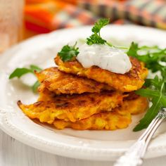 Pancakes carottes