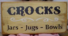 Primitive Wood Signs | Primitive Country Wood Signs by CreekSideCountry on Etsy