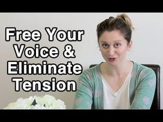 Tension gets in the way of healthy sound!  Here's a few tips to help you relax your neck, shoulder and tongue tension to help you sing freely.  Hope you enjoy!