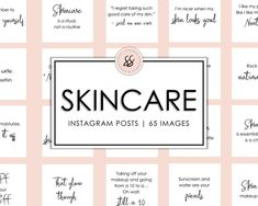 65 Skincare Esthetician Instagram Posts Skincare Quotes | Etsy Brow Quotes, Spa Quotes, Makeup Quotes, Makeup Artist Quotes, Salon Quotes, Relleno Facial, Tanning Quotes, Tanning Tips, Instagram Quotes