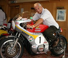 Jim Redman - Six times world champion, 250 and 350cc class, and six times Isle of Man TT winner