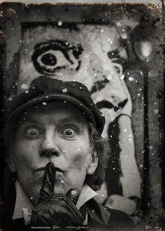 Photographe Férial ...Portrait Jef Aerosol  French street artist
