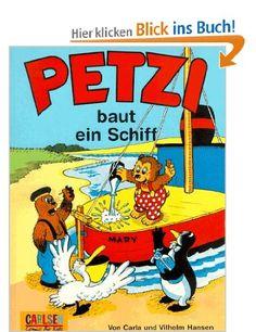 Petzi, Bd.1, Petzi baut ein Schiff: Amazon.de: Carla Hansen, Vilhelm Hansen: Bücher