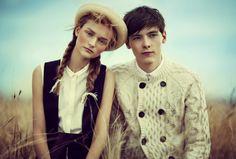 Harry Wooler for Teen Vogue April 2012 via http://dailymalemodels.com