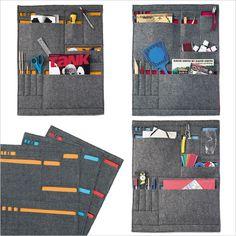 Grid Wall Pockets - organizador na parede - Eu Compraria! Blog