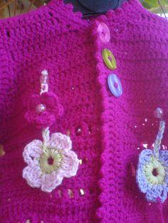 gehäkete Blumen / Flower crochet