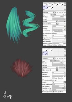 brush settings by TinaEnbuske.deviantart.com on @deviantART