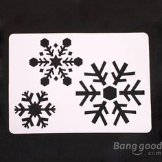 6 Pcs Large Christmas Spray Snow Template Window Decoration at Banggood Christmas Sale, Christmas Crafts, Christmas Ornaments, Christmas Ideas, Holidays And Events, Paper Cutting, Party Supplies, Stencils, Arts And Crafts