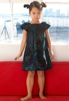 Cute dress. Cute kid.