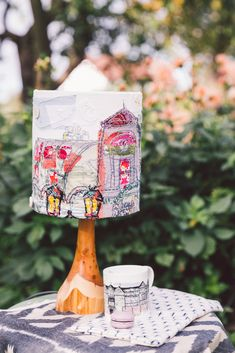 Join me making lampshades and chatting about my work and showing you how to create exciting embroidered artworks. Felt Crafts, Diy And Crafts, Handmade Lampshades, Hand Embroidery, Embroidery Ideas, Nature Table, Mason Jar Lighting, Embroidery For Beginners, Creative Decor