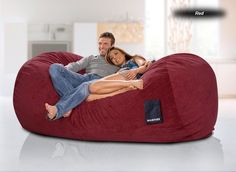 Giant Bean Bag Except It Isnt Those Crappy Foam Beans Is Filled With Really Nice Chopped So Never Dies
