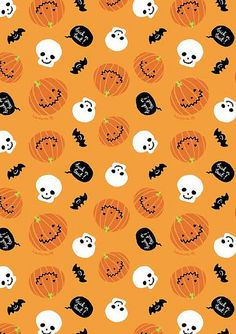 Free Halloween Background Printable for bags, crafts, etc.