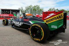 Nico Hulkenberg, Sahara Force India F1 VJM07 leaves the pits