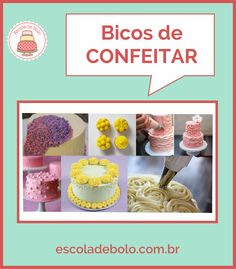 Bicos de Confeitar, uma opção ideal para decorar bolos de festa