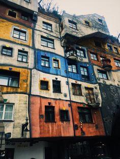 An expressionist landmark of Vienna - Hundertwasserhaus