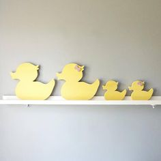 Teen Room Decor, Room Ideas Bedroom, Nursery Decor, Big Duck, Little Duck, Donate A Tree, Duck Nursery, Parents Room, Family Wall Art