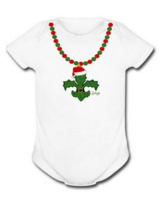 Christmas Baby All-in-One Body-Suit New by BethDaiglePhotograph