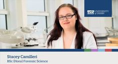 Stacey Camilleri, BSc (Hons) Forensic Science student, talks about the reasons she chose to study at Derby. Find out more about the course: www.derby.ac.uk/courses/forensic-science-bsc-hons/ #derbyuni