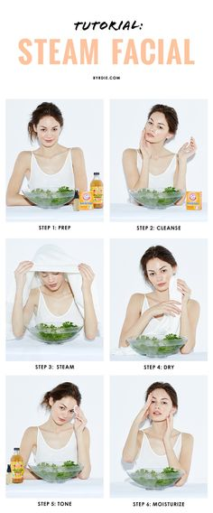 6 steps to the perfect DIY steam facial