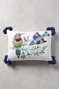 Plumita Pillow  #anthropologie