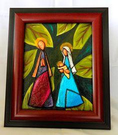 Nativity - Nacimiento con hojas