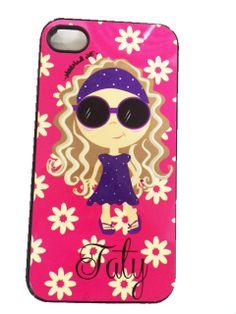 Diseño para celular personalizada con tu nombre by MillieMade Art (315 6777 303)