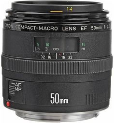 7. The Canon EF 50mm Macro Lens