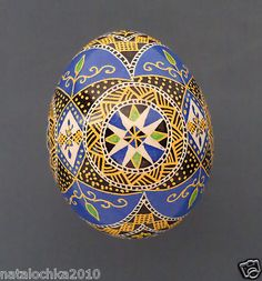Chicken Ukraine Pysanka Easter Egg Pysanky Item 8 | eBay