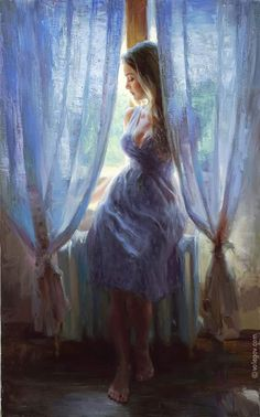 VOLEGOV | poses | perspective | window
