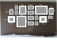 New Picture Wall Layout Photo Collages Ideas Gallery Wall Layout, Gallery Walls, Photo Wall Decor, Photo Deco, Inspiration Wall, Frames On Wall, Wall Collage, Picture Wall, Home And Living