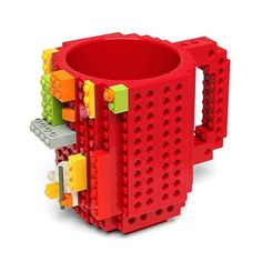 LEGO Red Mug LOT OF 2 Figure Accessories NEW 3899