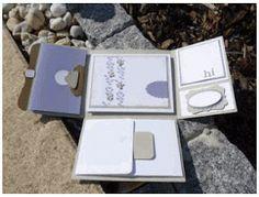 Pagina timbro di Susanne: Istruzioni Mini Album