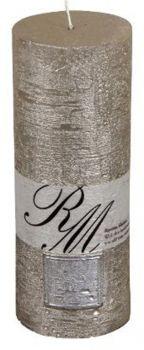 Riviera Maison Frozen Candle Celadon Silver 18cm - Kaarsen - BoMonT.nl