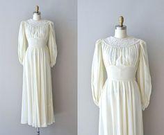 Jeanvieve wedding dress • vintage 1940s wedding dress • long sleeve 40s wedding gown
