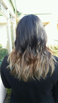 Fall color melt / ombre / Balayage