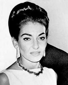 Maria Callas Greek Goddess