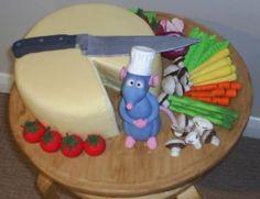 Ratatouille Cake - (Inspiration)