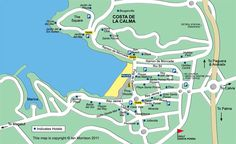 Map of the Majorca holiday resort of Santa Ponsa Santa Ponsa, Holiday Resort, Girls Weekend, The Great Outdoors, Places To Go, Map, Bullet Journal, Scrapbook, Spaces