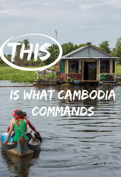 If you go to Cambodia - prepare to be bombarded with all types of emotions, beliefs, and physical discomforts.