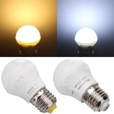 E27 3W SMD 2835 Energy Saving LED Light Bulb Lamp AC 220V