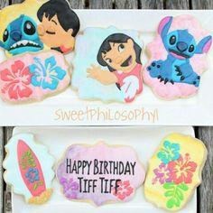 Lilo and Stitch sugar cookies