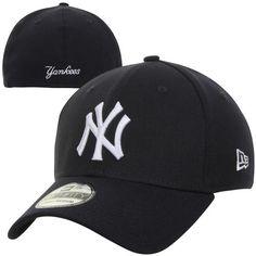 8fb6b43bd59 Men s New York Yankees New Era Navy MLB Team Classic Game 39THIRTY Flex Hat  Yankees Hat