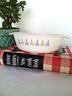 Clearance // Vintage Fire King Candleglow Dish // Farmhouse // Vintage Kitchen // Camper