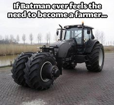 The Dark Farmer Rises...