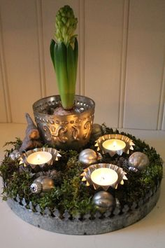 Just The Most Lovely: Christmas Arrangement # Christmas Decoration .- Bara Det Ljuvligaste: Jul Arrangemang Bara Det Ljuvliga… Just The Most Lovely: Christmas Arrangement # Just The Most Lovely: Christmas Arrangement - Christmas Love, Beautiful Christmas, Christmas 2019, Christmas Wreaths, Xmas, Advent Candles, Country Christmas Decorations, Deco Boheme, Fete Halloween