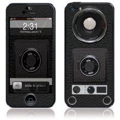 Super 8 Camera iPhone 5 Skin and case